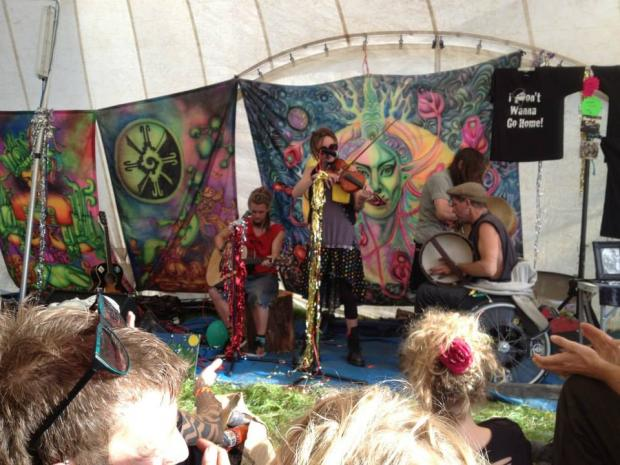 with the scrumpy bastards and trooper, alchemy festival, 2013